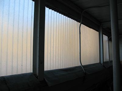 Fiberglass wall panels exterior application | Dipcraft