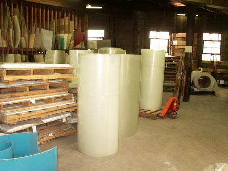Fiberglass panels are easy to install