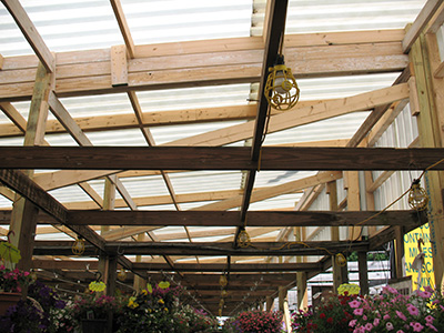 Genial Interior View Garden Center